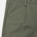 Мужские брюки Norse Projects Sten Light Military Cotton Dried Olive фото- 1