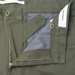 Мужские брюки Norse Projects Sten Light Military Cotton Dried Olive фото- 2