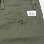 Мужские брюки Norse Projects Sten Light Military Cotton Dried Olive фото- 3