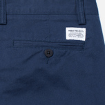 Мужские брюки Norse Projects Sten Light Military Cotton Navy фото- 3