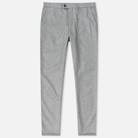 Norse Projects Thomas Slim Light Wool Men's trousers Light Grey Melange