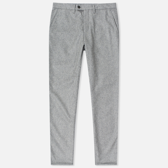 Мужские брюки Norse Projects Thomas Slim Light Wool Light Grey Melange