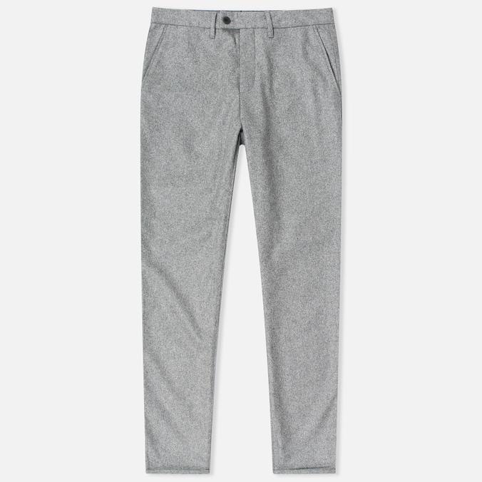 Norse Projects Thomas Slim Light Wool Men's trousers Light Grey Melange