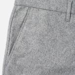 Мужские брюки Norse Projects Thomas Slim Light Wool Light Grey Melange фото- 1