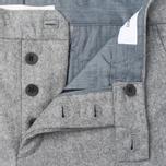 Norse Projects Thomas Slim Light Wool Men's trousers Light Grey Melange photo- 2