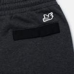 Peaceful Hooligan Owens Marl Men's Trousers Black photo- 3