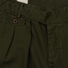 Мужские брюки Polo Ralph Lauren Baggy Fit Batten Pleated Rustic Twill Company Olive фото- 1