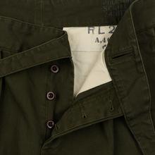 Мужские брюки Polo Ralph Lauren Baggy Fit Batten Pleated Rustic Twill Company Olive фото- 2