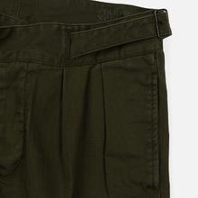 Мужские брюки Polo Ralph Lauren Baggy Fit Batten Pleated Rustic Twill Company Olive фото- 3