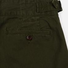 Мужские брюки Polo Ralph Lauren Baggy Fit Batten Pleated Rustic Twill Company Olive фото- 5
