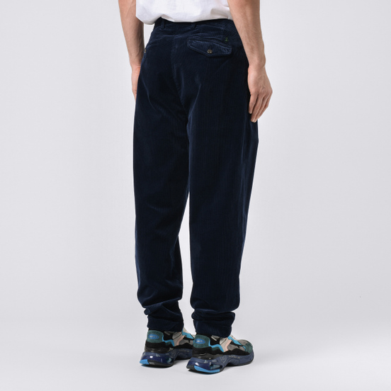 Мужские брюки Polo Ralph Lauren Baggy Fit Briton 10 Wale Corduroy Cruise Navy