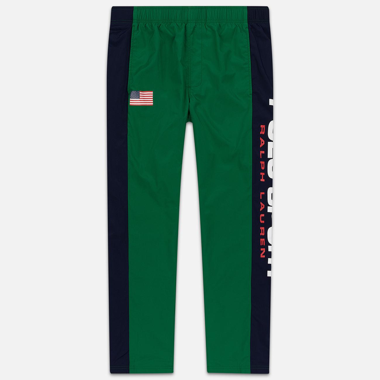 Мужские брюки Polo Ralph Lauren Polo Sport Freestyle Nylon OG Pull Up Jerry Green/Cruise Navy