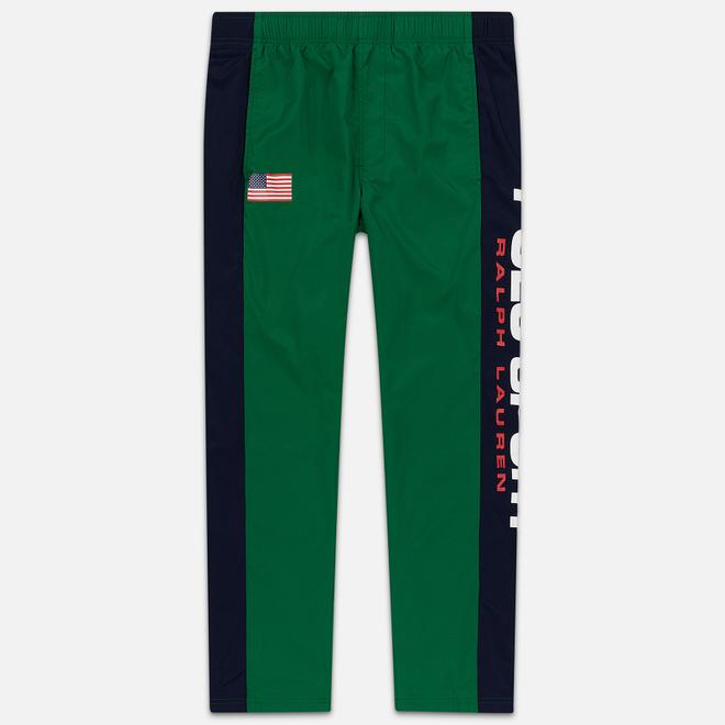 Мужские брюки Polo Ralph Lauren Freestyle Nylon OG Pull Up Jerry Green/Cruise Navy