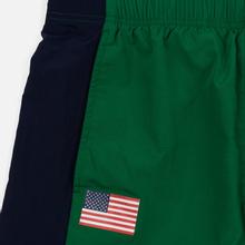 Мужские брюки Polo Ralph Lauren Polo Sport Freestyle Nylon OG Pull Up Jerry Green/Cruise Navy фото- 1