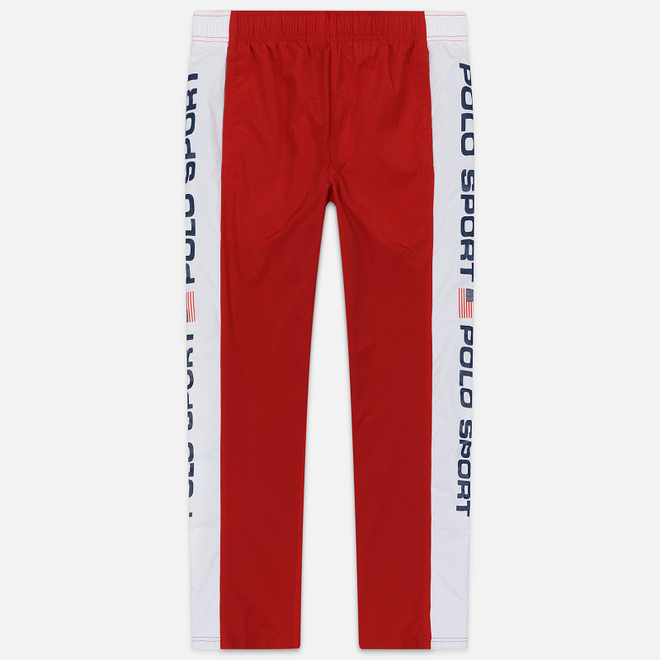 Мужские брюки Polo Ralph Lauren Freestyle Nylon OG Pull Up Red/Pure White