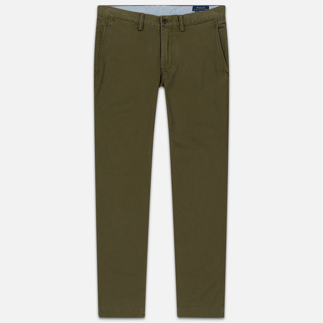Мужские брюки Polo Ralph Lauren Slim Fit Bedford Defender Green
