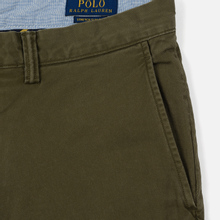 Мужские брюки Polo Ralph Lauren Slim Fit Bedford Defender Green фото- 3