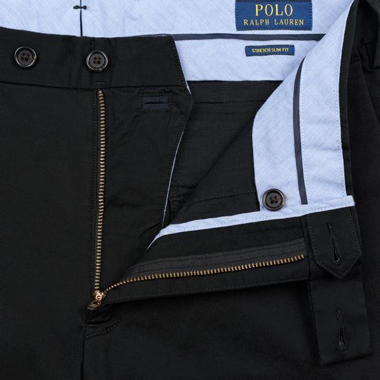 Мужские брюки Polo Ralph Lauren Slim Fit Stretch Military Black