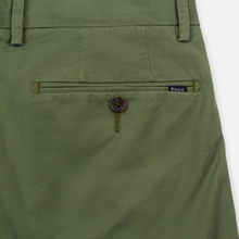 Мужские брюки Polo Ralph Lauren Tailored Slim Fit Lightweight Stretch Military Army Olive фото- 4