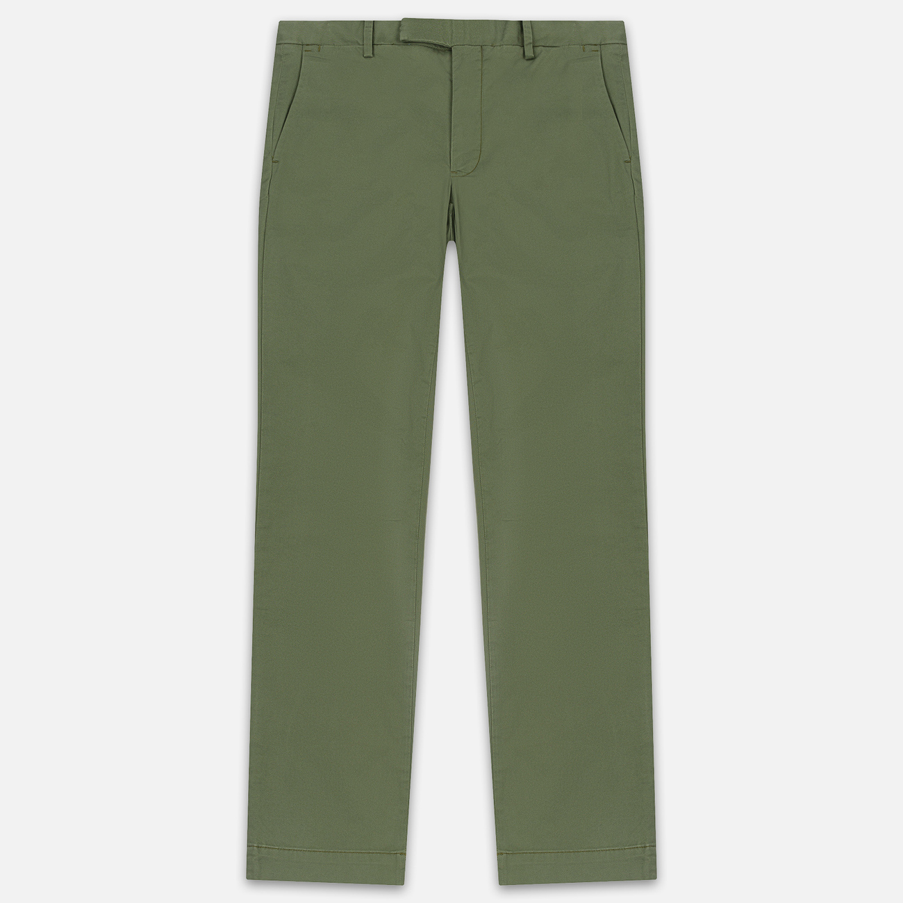 Мужские брюки Polo Ralph Lauren Tailored Slim Fit Lightweight Stretch Military Army Olive