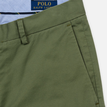 Мужские брюки Polo Ralph Lauren Tailored Slim Fit Lightweight Stretch Military Army Olive фото- 3