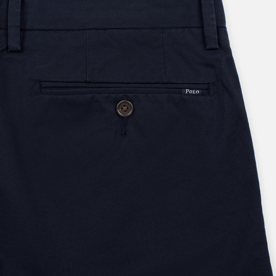 Мужские брюки Polo Ralph Lauren Tailored Slim Fit Lightweight Stretch Military Aviator Navy
