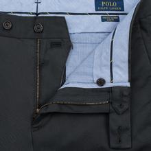 Мужские брюки Polo Ralph Lauren Tailored Slim Fit Lightweight Stretch Military Black Mask фото- 2