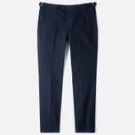 Мужские брюки Pringle of Scotland Garment Dye Navy фото- 0