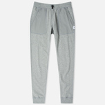 Reigning Champ Hybrid Terry Slim Men's Trousers Heather Grey photo- 0
