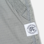 Reigning Champ Hybrid Terry Slim Men's Trousers Heather Grey photo- 3