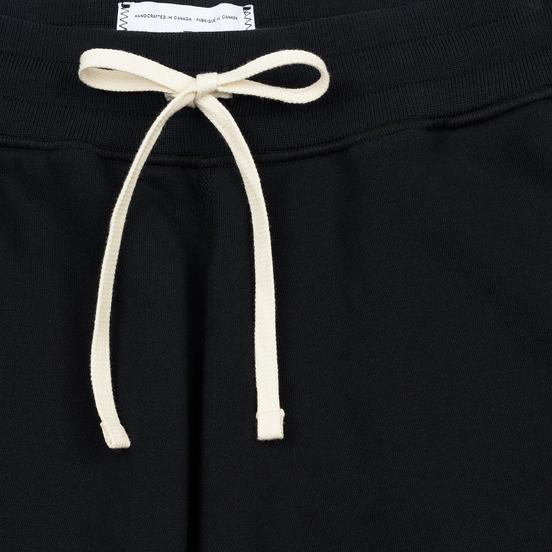 Мужские брюки Reigning Champ Midweight Terry Cuffed Black
