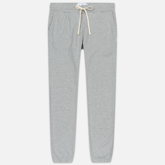 Мужские брюки Reigning Champ Midweight Terry Cuffed Heather Grey