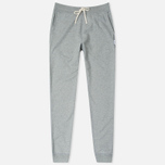 Мужские брюки Reigning Champ Midweight Terry Slim Heather Grey фото- 0