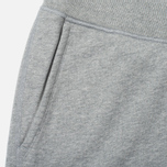 Reigning Champ Midweight Terry Slim Men's Trousers Heather Grey photo- 2
