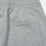 Reigning Champ Midweight Terry Slim Men's Trousers Heather Grey photo- 4