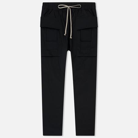 Мужские брюки Rick Owens DRKSHDW Creatch Cargo Black