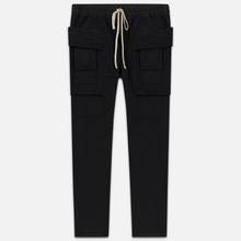 Мужские брюки Rick Owens DRKSHDW Creatch Cargo Loose Fit Black фото- 0