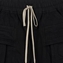 Мужские брюки Rick Owens DRKSHDW Creatch Cargo Loose Fit Black фото- 1