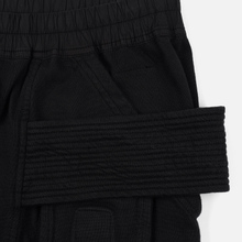 Мужские брюки Rick Owens DRKSHDW Creatch Cargo Loose Fit Black фото- 3