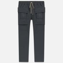 Мужские брюки Rick Owens DRKSHDW Creatch Cargo Loose Fit Flint фото- 0