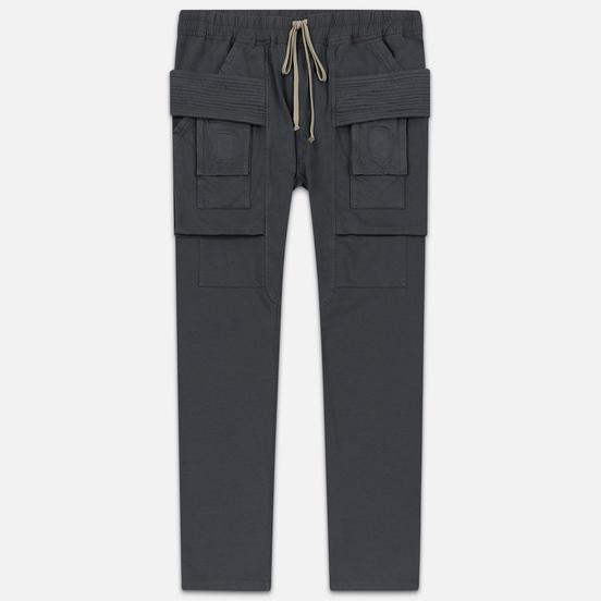 Мужские брюки Rick Owens DRKSHDW Creatch Cargo Loose Fit Flint