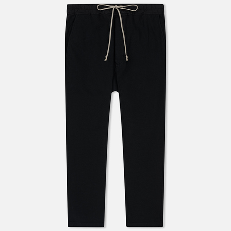 Мужские брюки Rick Owens DRKSHDW Drawstring Long Sweat Black
