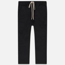 Мужские брюки Rick Owens DRKSHDW Dropped Crotch Drawstring Long Black фото- 0