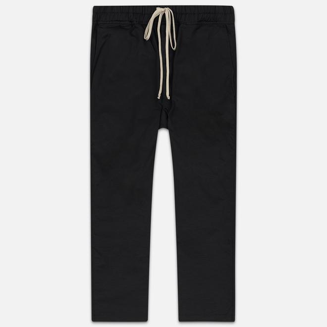 Мужские брюки Rick Owens DRKSHDW Dropped Crotch Drawstring Long Black