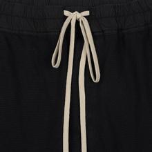 Мужские брюки Rick Owens DRKSHDW Loose Fit Drawstring Long Gym Print Black/Natural фото- 1