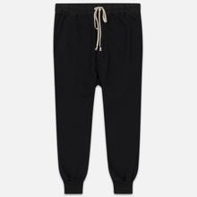 Мужские брюки Rick Owens DRKSHDW Loose Fit Prisoner Drawstring Black фото- 0
