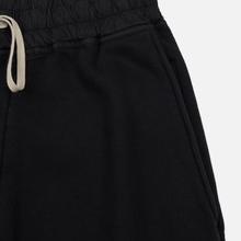 Мужские брюки Rick Owens DRKSHDW Loose Fit Prisoner Drawstring Black фото- 3