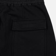 Мужские брюки Rick Owens DRKSHDW Loose Fit Prisoner Drawstring Black фото- 2