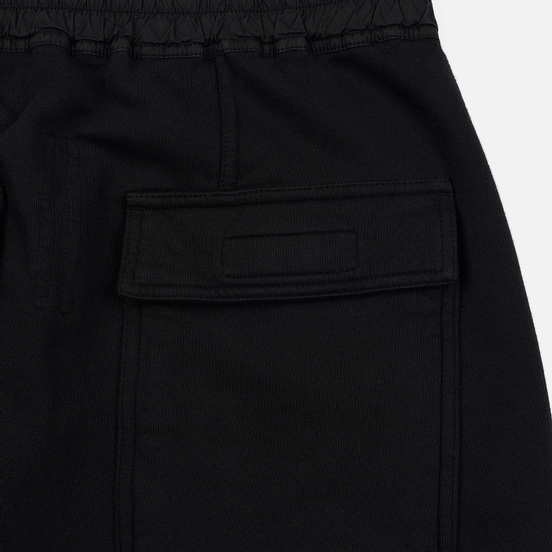 Мужские брюки Rick Owens DRKSHDW Loose Fit Prisoner Drawstring Black