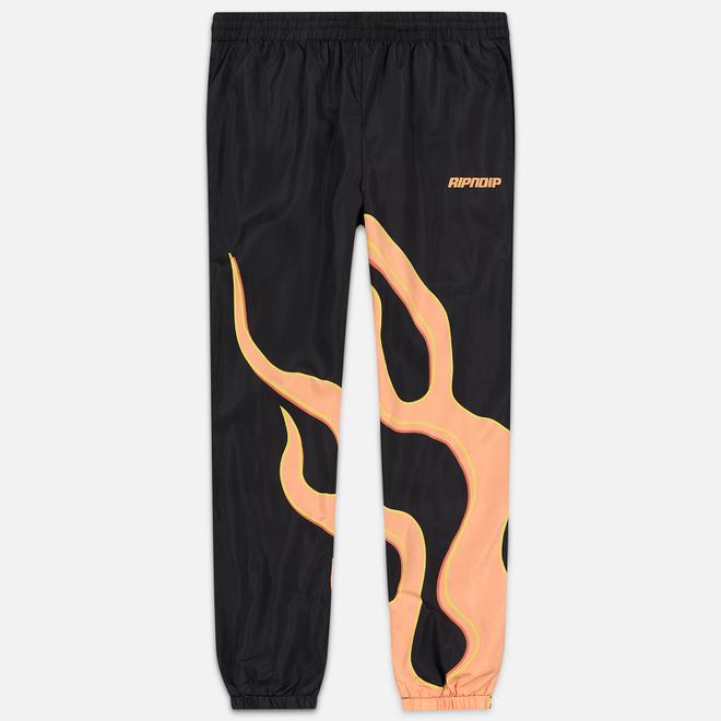 Мужские брюки RIPNDIP Flaming Hot Track Black